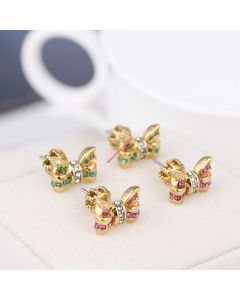 Juicy Couture Diamond Bow Earrings