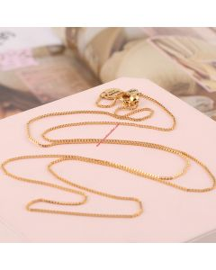 Juicy Couture Gold-Tone Snake Bones Hook Necklace